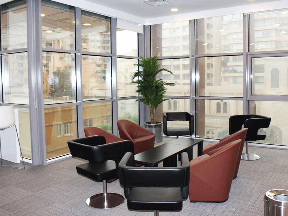 Office interior mathaf
